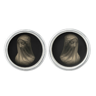 Veiled Madonna Cufflinks