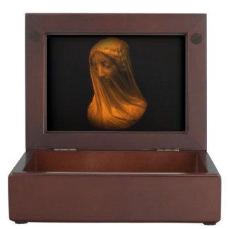 Veiled Madonna Keepsake Box