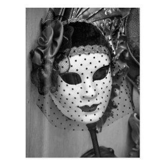 Veiled Mannequin Postcard