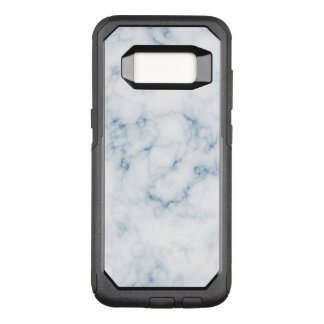 Vein Marble White w Blue Otter Box OtterBox Commuter Samsung Galaxy S8 Case