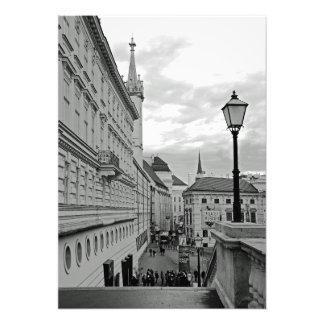 Vein. View of Albertplatz Photo Print