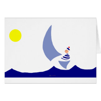 Vela Greeting Card