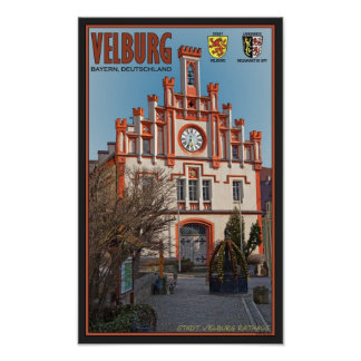 Velburg - Rathaus Poster