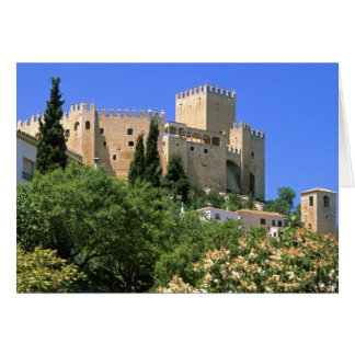 Velez Blanco Castle, Andalucia, Spain Card