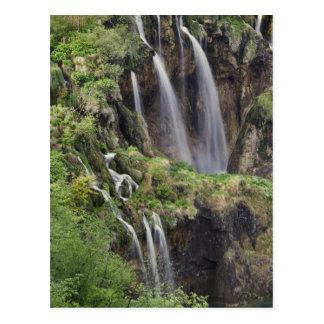 Veliki Slap (Waterfall) Plitvice Lakes National Postcard