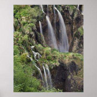Veliki Slap (Waterfall) Plitvice Lakes National Poster