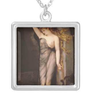 Velleda, before 1869 silver plated necklace