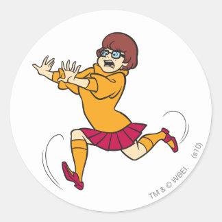 Velma Pose 13 Classic Round Sticker