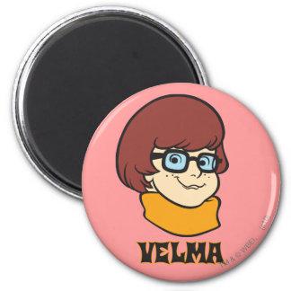 Velma Pose 20 2 Inch Round Magnet