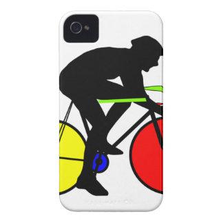 Vélo de recyclage coloré multi coque iPhone 4