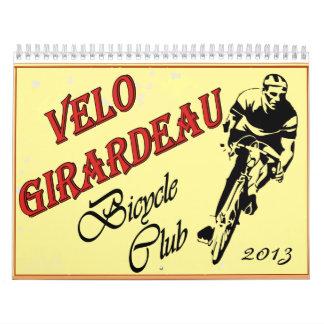 Velo Girardeau 2013 Calender Calendars