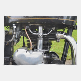 Velocette Engine Kitchen Towel