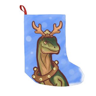 Veloci-reindeer Small Christmas Stocking