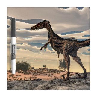 Velociraptor dinosaur - 3D render Dry-Erase Whiteboard