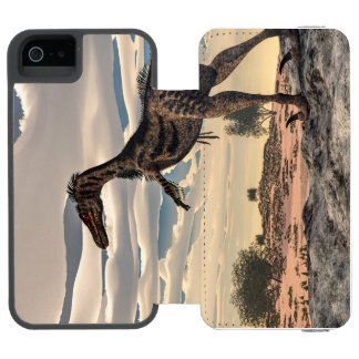 Velociraptor dinosaur - 3D render Incipio Watson™ iPhone 5 Wallet Case