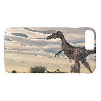 Velociraptor dinosaur - 3D render iPhone 8 Plus/7 Plus Case