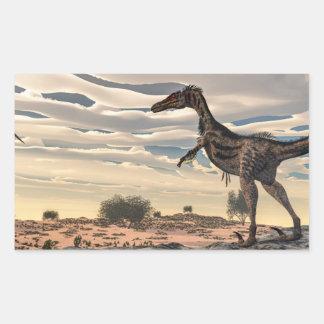 Velociraptor dinosaur - 3D render Sticker