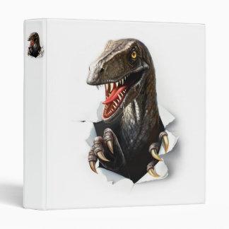 Velociraptor Dinosaur Binder