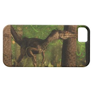 Velociraptor dinosaur in the forest iPhone 5 cases