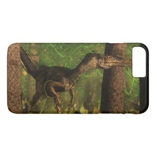 Velociraptor dinosaur in the forest iPhone 8 plus/7 plus case