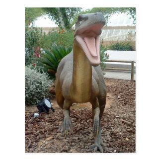 Velociraptor Dinosaur Postcard