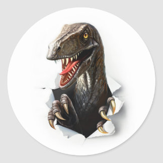 Velociraptor Dinosaur Stickers
