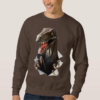 Velociraptor Dinosaur Sweatshirt