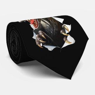 Velociraptor Dinosaur Tie