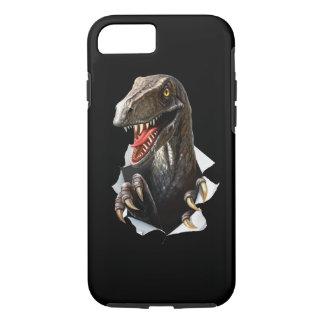 Velociraptor Dinosaur Tough iPhone 7 Case
