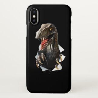 Velociraptor Dinosaur Zazzle iPhone X Case