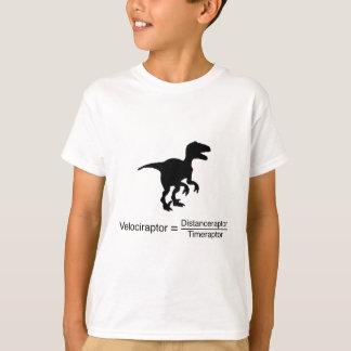 velociraptor funny science T-Shirt