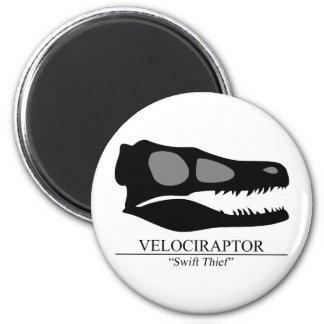 Velociraptor Skull Magnet