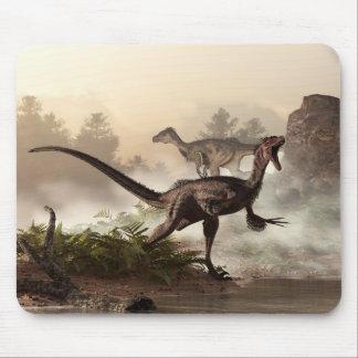 Velociraptors Mouse Pad