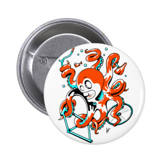 velOcto Pinback Button