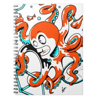 velOcto Spiral Notebooks