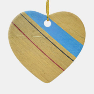 Velodrome abstract ceramic ornament