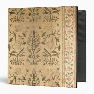 Velvet floor spread, Moghul, Shah Jahan period, 16 Vinyl Binders