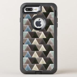 Velvet Geometry Modern Pattern OtterBox Defender iPhone 7 Plus Case