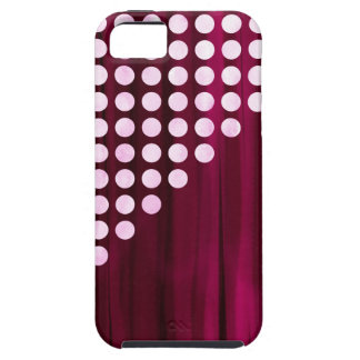 Velvet Polka dot Pattern iPhone 5 Covers