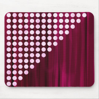 Velvet Polka dot Pattern Mouse Pad