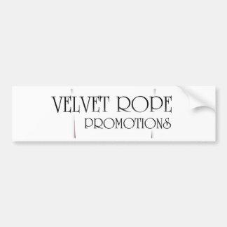 Velvet Rope Promotions Bumper Sticker