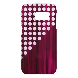Velvet Spots Pattern Samsung Galaxy S7 Case