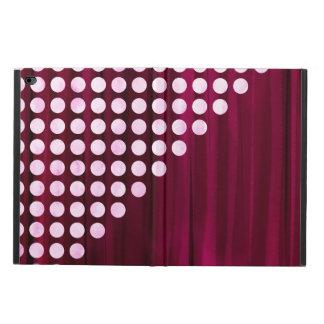 Velvet With White Polka Dots Pattern Powis iPad Air 2 Case