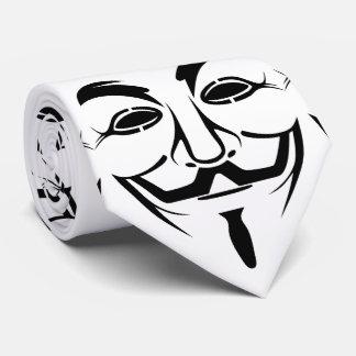 Vendetta mask tie