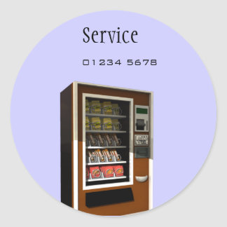 vending machine service tag