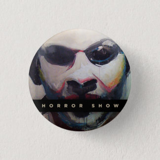 Vending Machine Winery Horror Show 1 Inch Round Button