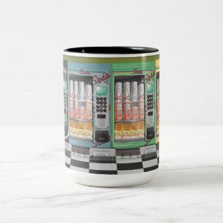 Vending Machine's Vintage Diner Two-Tone Coffee Mug