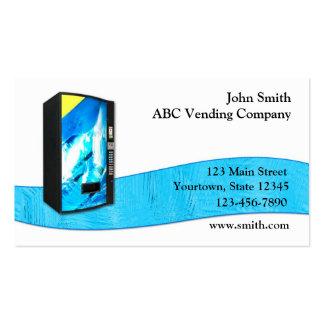 Vending Service Business Card