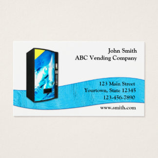 Vending Service Business Card