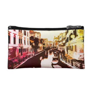 Venedig, Venice Panorama Rainbow Popart Makeup Bag